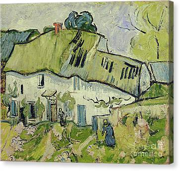 The Farm In Summer Canvas Print by Vincent van Gogh