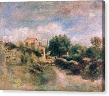 The Farm Canvas Print by Renoir