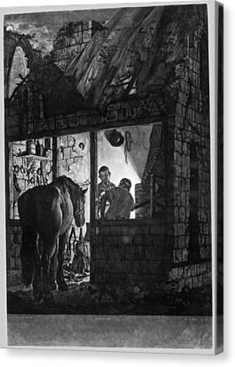 The Farrier's Shop Canvas Print