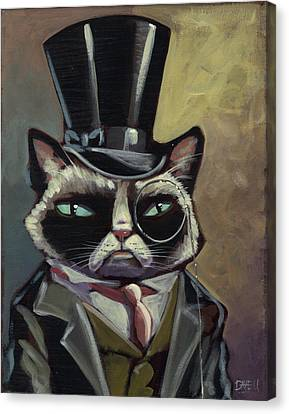 The Fat Cat Canvas Print