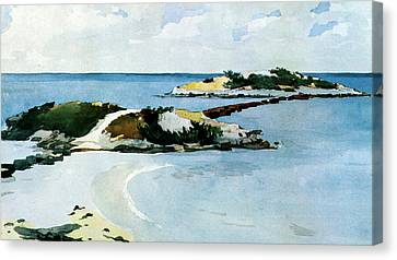 The Favorite Canvas Print by Winslow Homer