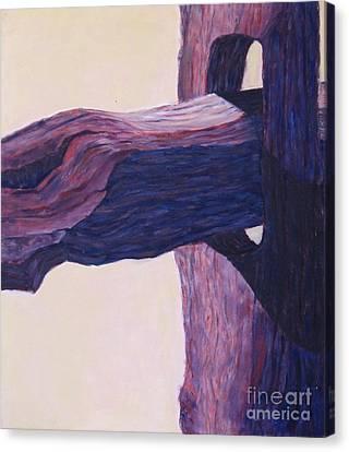 The Fencepost Canvas Print by Judith Espinoza