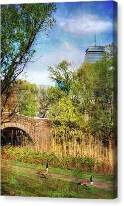 The Fens - Boston Canvas Print