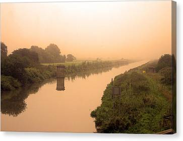 The Fens Canvas Print by Jez C Self