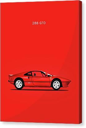 The Ferrari 288 Gto Canvas Print by Mark Rogan