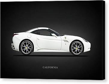 The Ferrari California Canvas Print