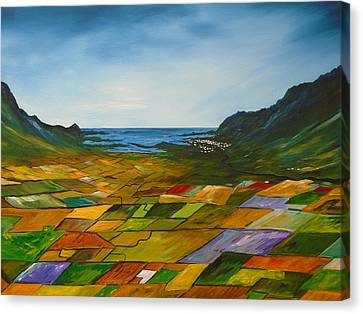 The Fields Of Dingle Canvas Print