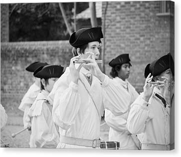 The Fifes And Drums Canvas Print