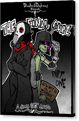 The Final Cure Canvas Print by Jamie Lindenmeier