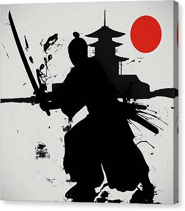 The Final Samurai  Canvas Print by Dan Sproul