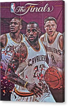 The Finals Canvas Print