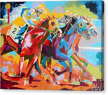 The Finishing Post- Large Work Canvas Print