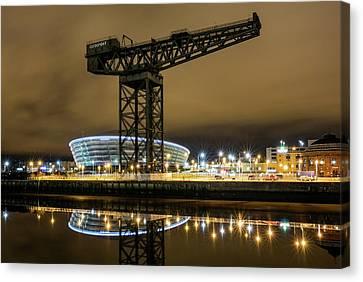 The Finnieston Crane Glasgow Canvas Print