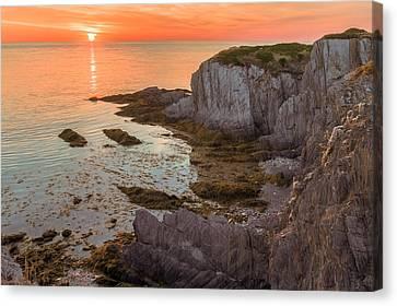Nova Scotian Sunset Canvas Print