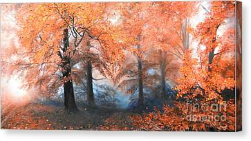 The Fire Canvas Print