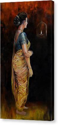 The First Diwali Canvas Print by Parag Pendharkar