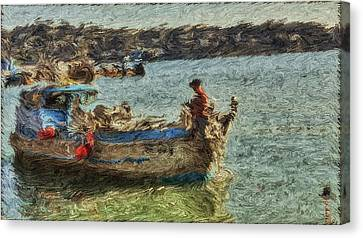 The Fisherman Of Sausalito Canvas Print