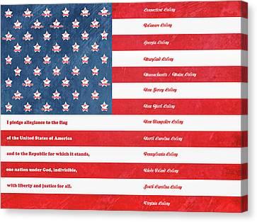 The Flag Canvas Print