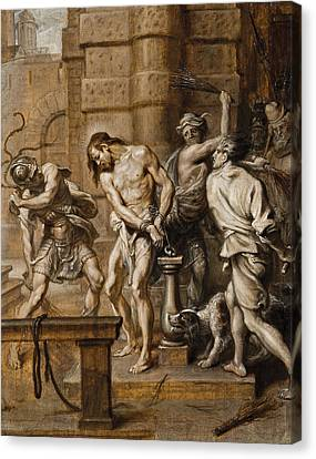 The Flagellation Canvas Print