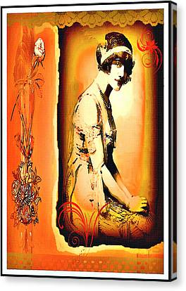 The Flapper Canvas Print
