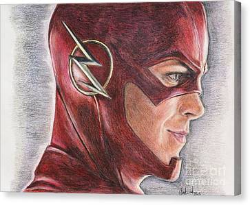 The Flash / Grant Gustin Canvas Print