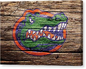 Tebow Canvas Print - The Florida Gators by Brian Reaves