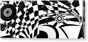 The Flow Of Life Canvas Print by HPrince De Artist