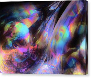 The Fluidity Of Time And Space Canvas Print