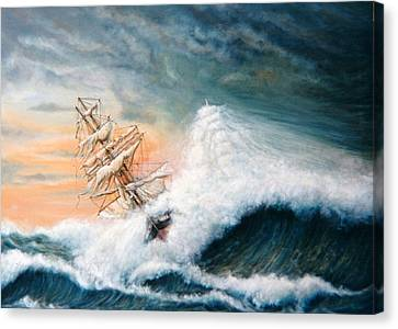The Flying Dutchman Version One Canvas Print