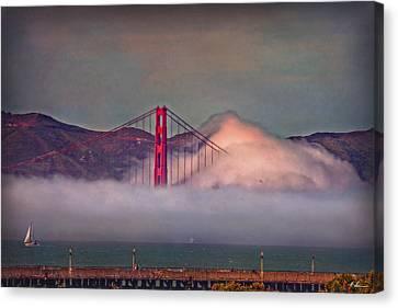 The Fog Canvas Print