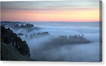 The Fog Kept On Rolling In Canvas Print