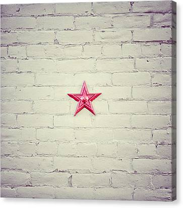 4th Of July Canvas Print - The Folk Star by Lisa Russo