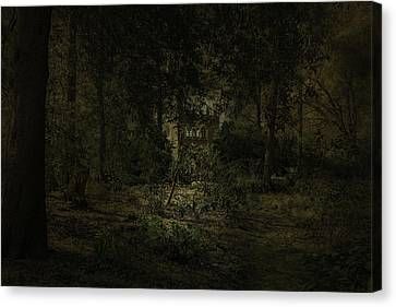 Canvas Print featuring the photograph The Folly by Ryan Photography