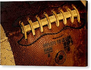The Football 3 Canvas Print by David Patterson
