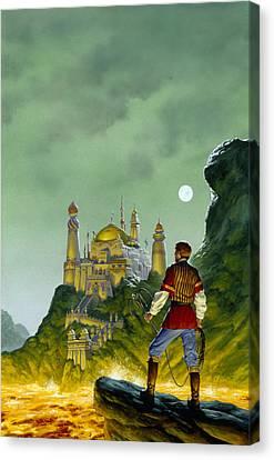 Atlantis Canvas Print - The Forbidden Palace by Richard Hescox