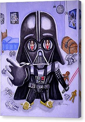 The Force Is Strong With This One Canvas Print by Al  Molina