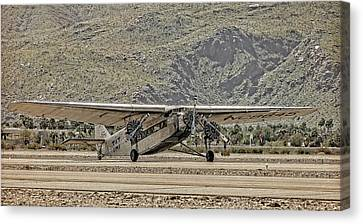 The Ford Trimotor Canvas Print