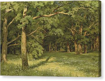 The Forest Clearing Canvas Print by Ivan Shishkin