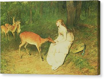 The Forest Pet Canvas Print