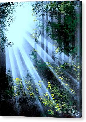 The Forest01 - E Canvas Print
