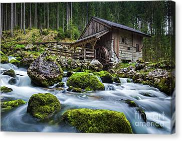 The Forgotten Mill Canvas Print by JR Photography