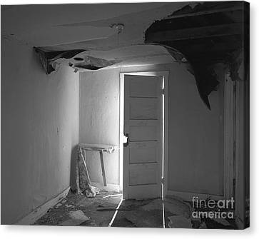 The Forgotten Room Canvas Print by Christian Slanec