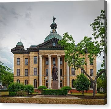 The Fort Bend County Courthouse Canvas Print