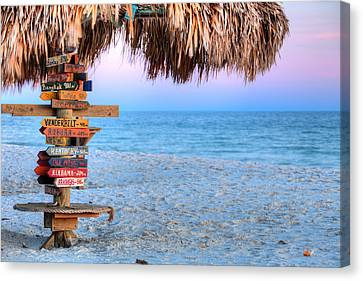 The Fort Morgan Tiki Bar Canvas Print by JC Findley