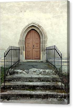 The Fortress Church's Side Door  Canvas Print