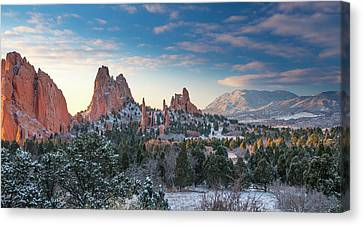 Canvas Print featuring the photograph The Fourth Season by Tim Reaves