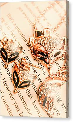The Fox Tale Canvas Print by Jorgo Photography - Wall Art Gallery