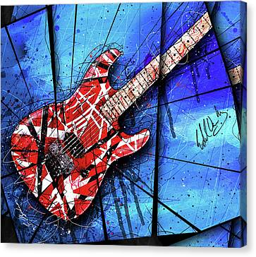 The Frankenstrat Vii Cropped Canvas Print by Gary Bodnar