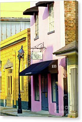 The French Quarter Wedding Chapel Canvas Print