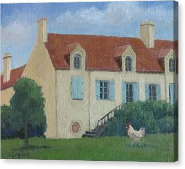 The French Rooster Series 2 Canvas Print
